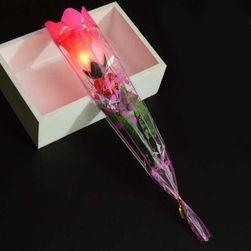 Светящаяся роза B01540