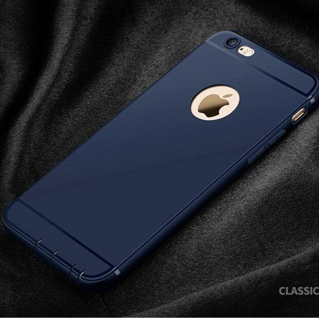 Zadní silikonový kryt pro iPhone 6 Plus/6S Plus 1