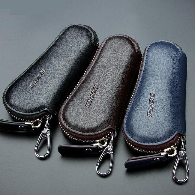 Usnjena torbica za ključe 1