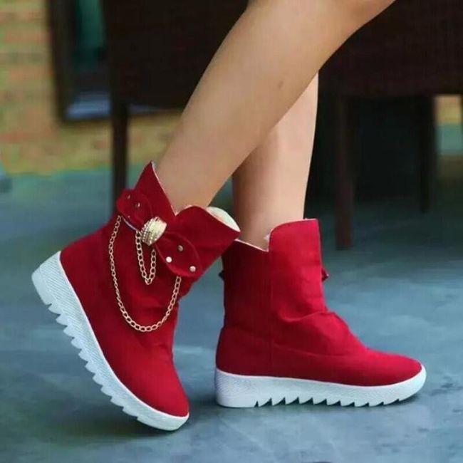 Dámské zimní boty WE695 1