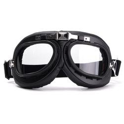 Retro motosiklet gözlüğü