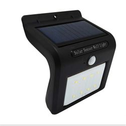 Solar LED fény mozgásérzékelővel - 8 LED fénycső