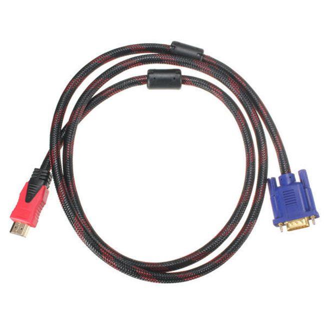 Redukce HDMI male do VGA male (1,5 m) 1