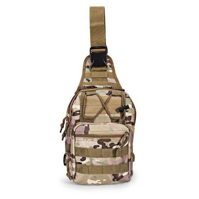 Taktická taška přes rameno - různé barvy 1