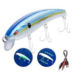 LED електрическа и вибрираща примамка за риболов Nemo