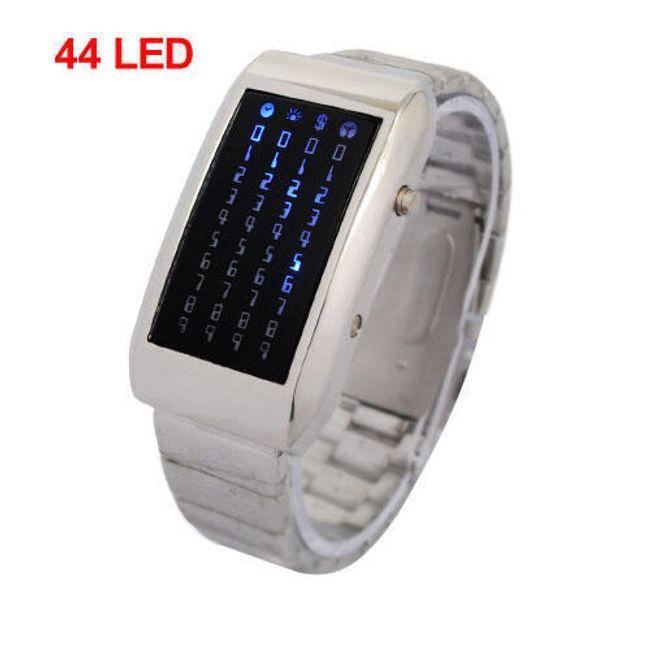 Binární LED hodinky 1