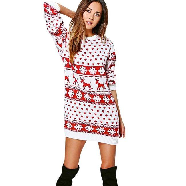 Damska sukienka bożonarodzeniowa Vanny 1