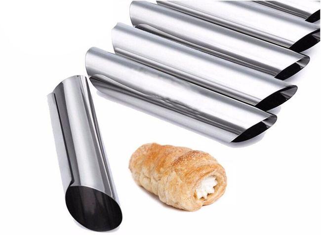 Kovové trubičky na pečení kremrolí - 12 kusů 1