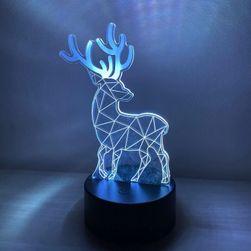 Lampa s 3D iluzí - jelen SR_417579