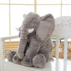 Duży pluszowy słoń dla dzieci - różne kolory