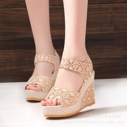 Bayan platformlu sandalet Jamie