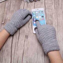 Dámské pletené rukavice - 8 variant