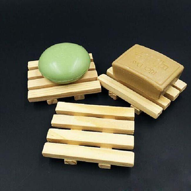 Drveno postolje za sapun 1