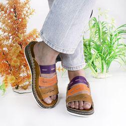 Ženske papuče Jamesina Maskirno zelena - veličina 35