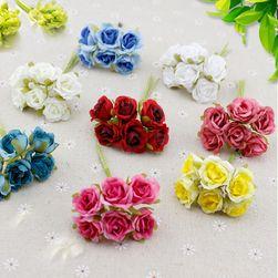 Искусственные цветы- 6 шт.