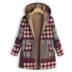 Суитчър в дизайн на палто Kevira