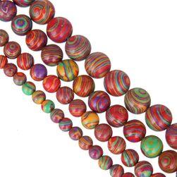 Kolorowe koraliki - 4 rozmiary / 7 kolorów