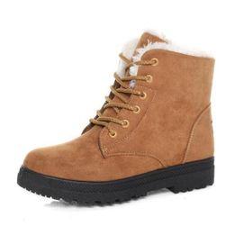 Dámské kotníkové boty na zimu
