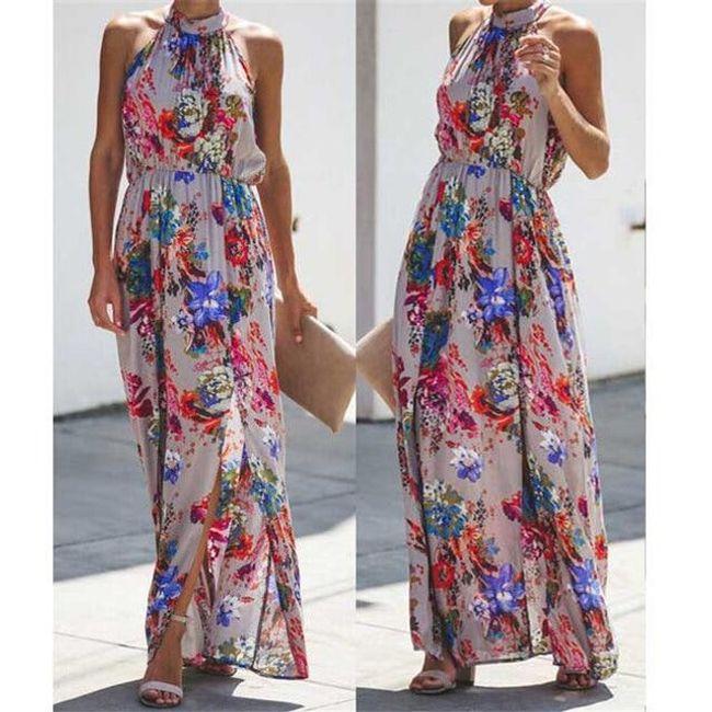Uzun bayan elbise Berneice 1