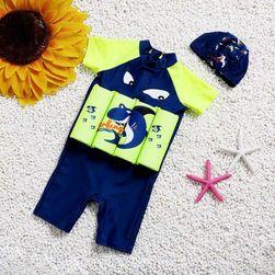 Costum de baie cu vestă de salvare pentru copii  DO7