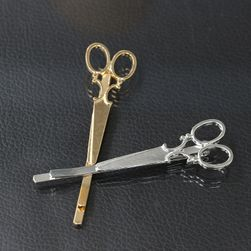Spinka do włosów w kształcie nożyc fryzjerskich - 2 kolory
