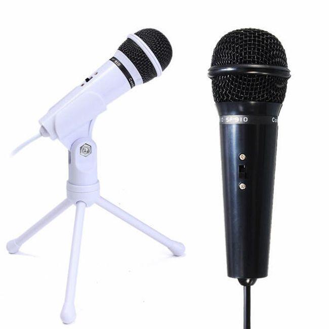 Mikrofon állvánnyal történő felvételhez 1