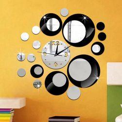 Sat u obliku ogledala - naljepnica za zid