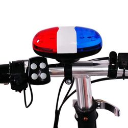 Svetlo na bicykel so zvončekom