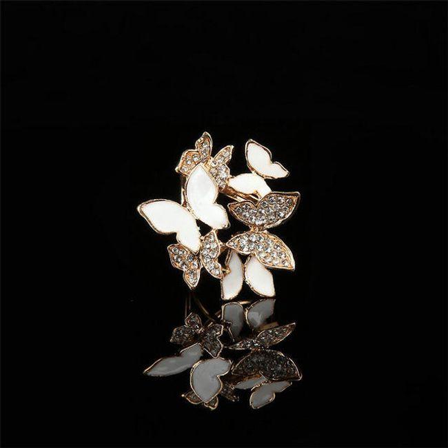 Брошь с бабочками- 3 расцветки 1
