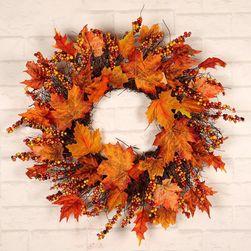 Podzimní věnec na dveře Rt45