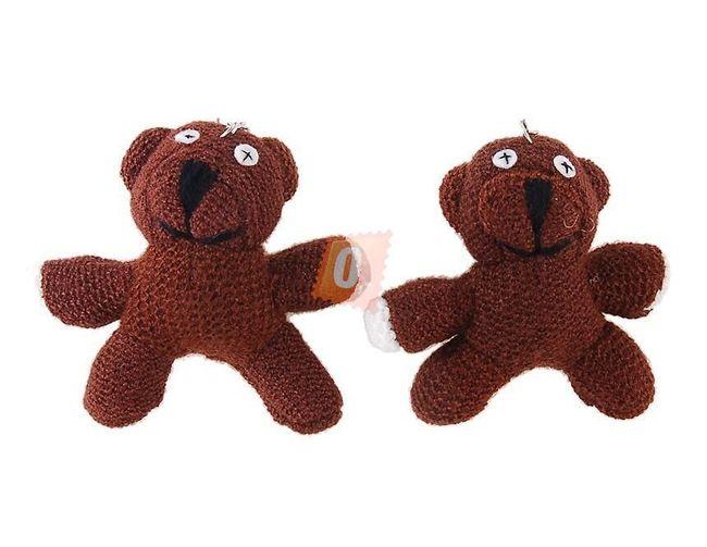 2ks Klíčenka - plyšová hračka - medvídek Mr. Beana 1