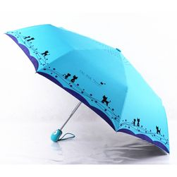 Összecsukható esernyő macska motívummal - 4 változat