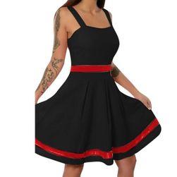 Letní šaty LS251 Črna - velikost 5