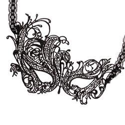 Koronkowa maska - 7 stylów