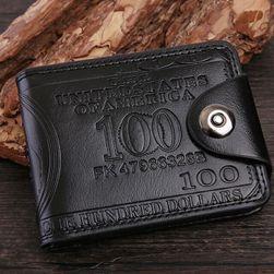 Pánská peněženka Evison Černá