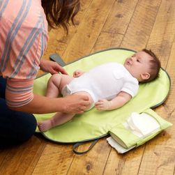Plansa impermeabila de calatorii pentru schimbat bebelusii - 5 culori