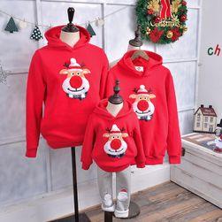Rodinná vánoční mikina - různé druhy