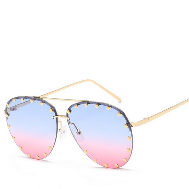 Sluneční brýle - pilotky s ozdobou 1