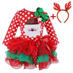 Rochie de Crăciun pentru fetițe QW12