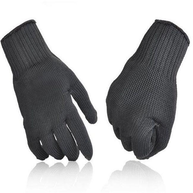 Kevlar védő munkakesztyű - fekete 1
