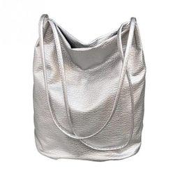 Dámská kabelka TN51 Stříbrná barva