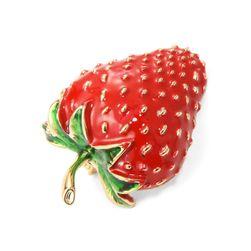Женская брошь Strawberry
