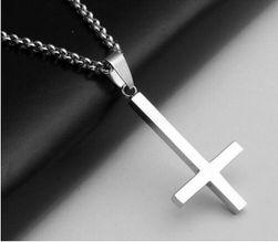 Řetízek s obráceným křížem