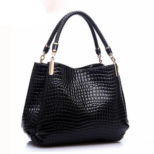 Роскошная женская сумка с тремя карманами 1